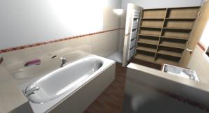 Obergeschoss Bad