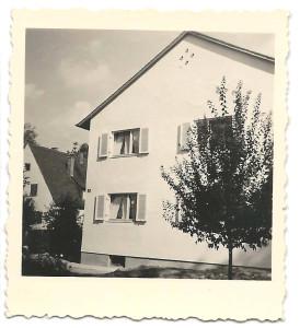 Unser Haus nach 1958