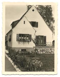 Unser Haus vor 1958