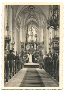 Stadtpfarrkirche 1953