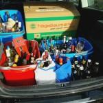 Wer immer Partys feiert, aber selbst kaum was trinkt... wir waren selbst überrascht wie viel Alkohol wir noch im Haus fanden ;-)
