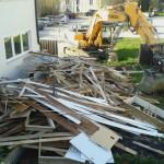 Tag 1: Das Haus wird entkernt