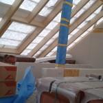 Dachgeschoss (Dach noch nicht gedeckt)