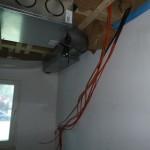 Orange: Netzwerkkabel