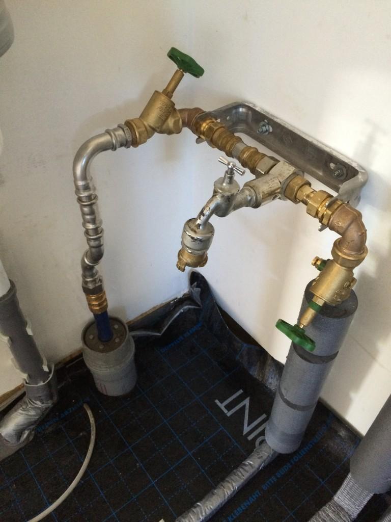 Bauwasser jetzt im Haus