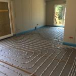 Fußbodenheizung: Fast schon ein Kunstwerk
