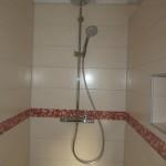 Armatur in der Badezimmer-Dusche